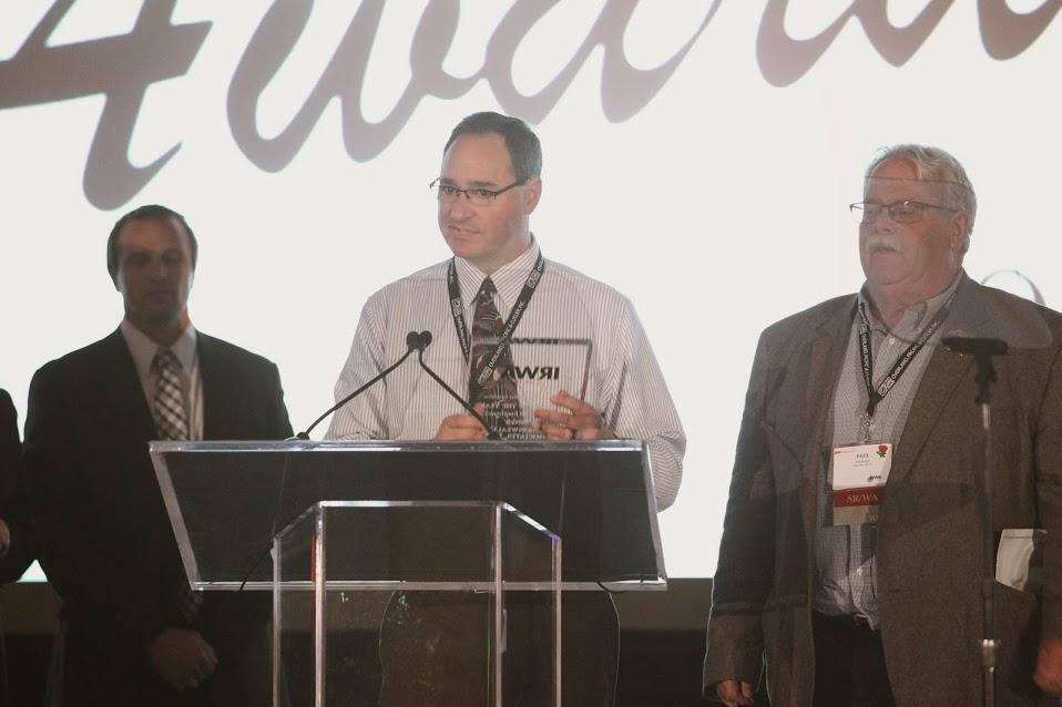 IRWA Jim podium